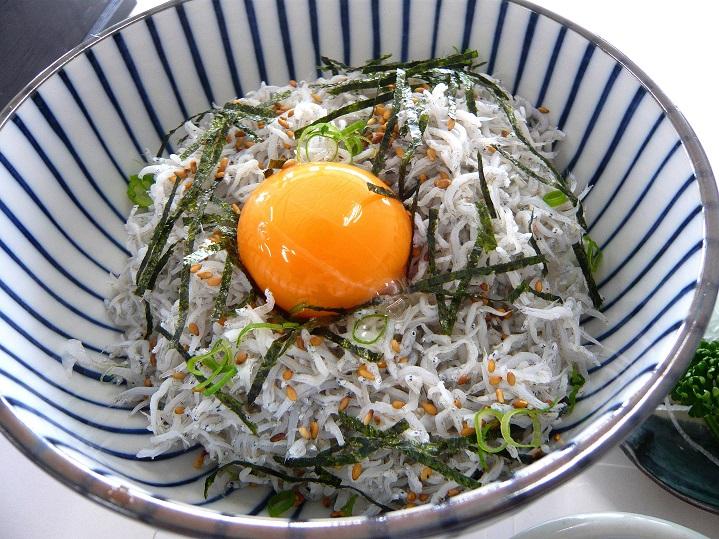 天晴水産シラス丼1