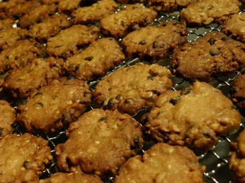 ココアアーモンドクッキー
