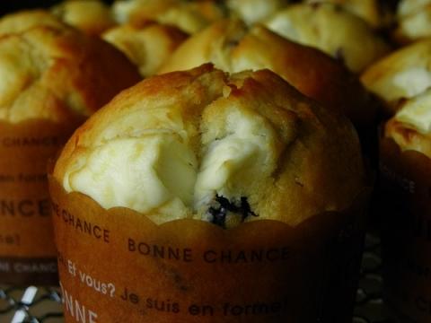 クランベリークリームチーズマフィン