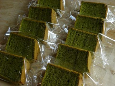 抹茶シフォンケーキ 10カット