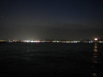鹿児島の夜景。