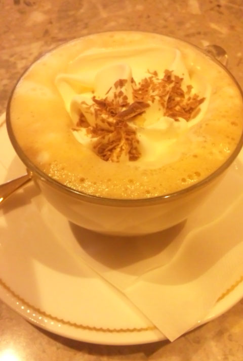 ウィンナーコーヒー!