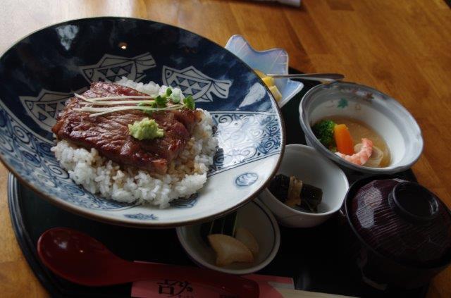 大田原牛のステーキ丼