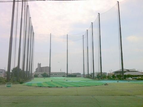 ゴルフの練習場_全景