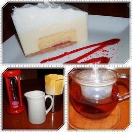 スノーホワイトチーズケーキ