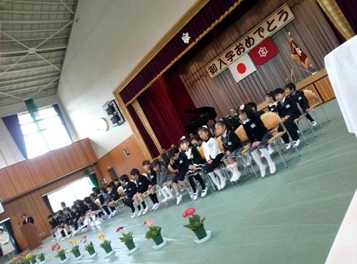 宇都宮市立田原西小学校<平成25年度入学式>