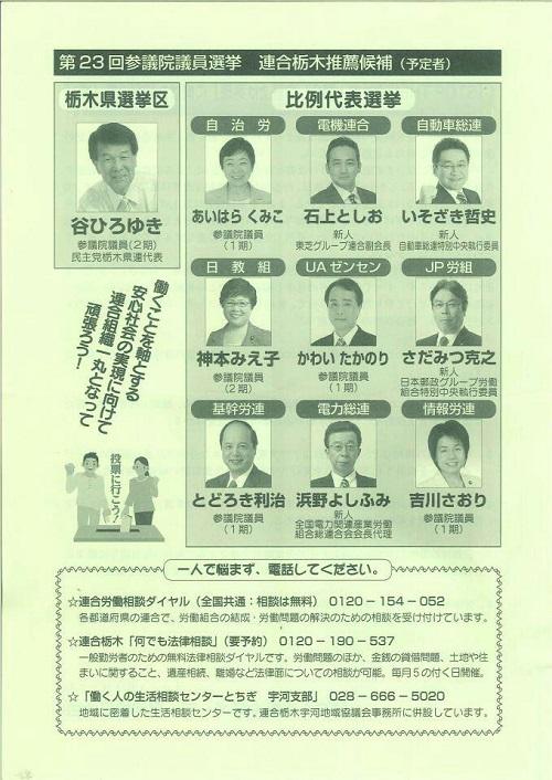 栃木県メーデー中央大会③