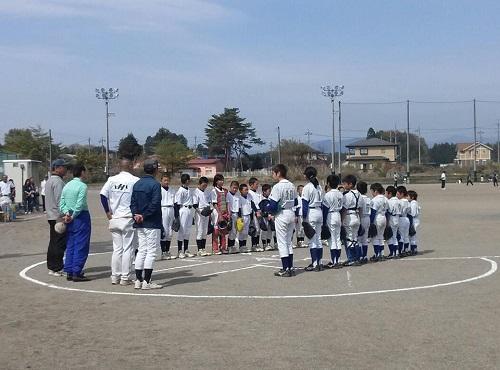 宇都宮市西部地区学童軟式野球<第57回交流大会>開幕