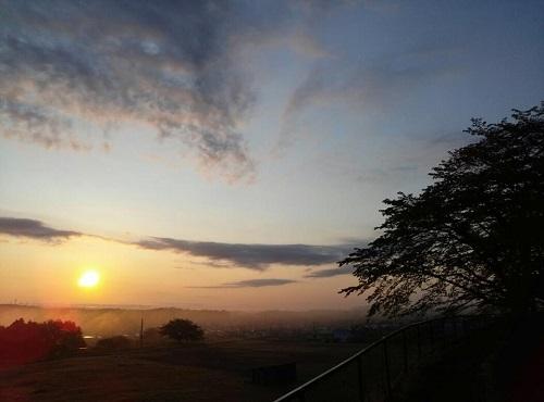 田原の夜明け