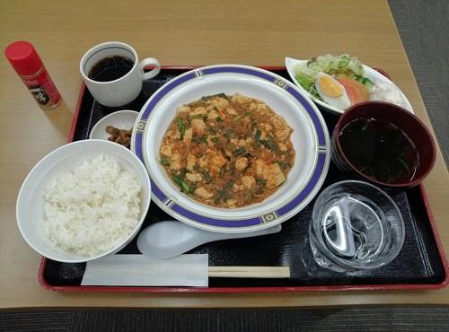 20130516GIJIDO CAFE<麻婆ランチ>