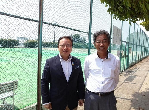 宇都宮テニス協会主催<女子チームダブルステニス大会>①