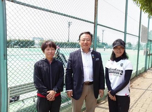 宇都宮テニス協会主催<女子チームダブルステニス大会>②