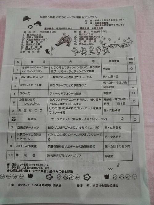 第43回かわちハートフル運動会<開会式>④