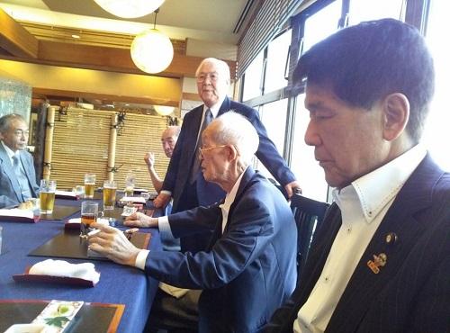 連合栃木議員懇談会OB会<第12回 総会>③