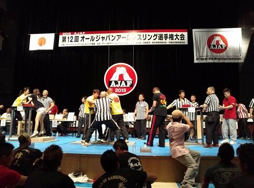 AJAF<第12回 オールジャパンアームレスリング選手権大会>③