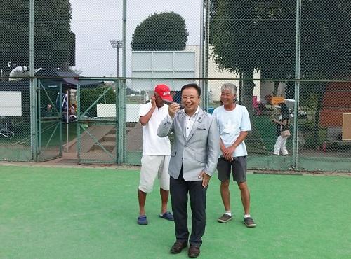 宇都宮テニス協会 主催<クラブ対抗テニス大会 2013>2日目①