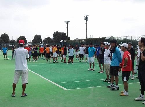 宇都宮テニス協会 主催<クラブ対抗テニス大会 2013>2日目②