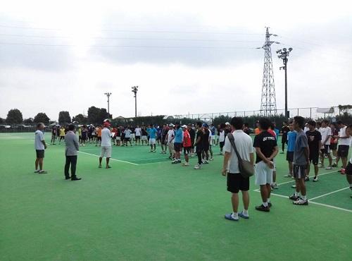 宇都宮テニス協会 主催<クラブ対抗テニス大会 2013>2日目③