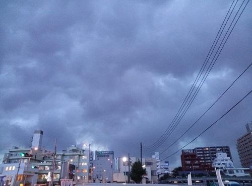 ゲリラ豪雨が来る予感?