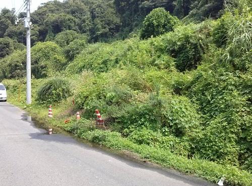 """8月6日(火)の豪雨の影響によると思われる""""土砂崩れ""""<現地調査>⑬"""
