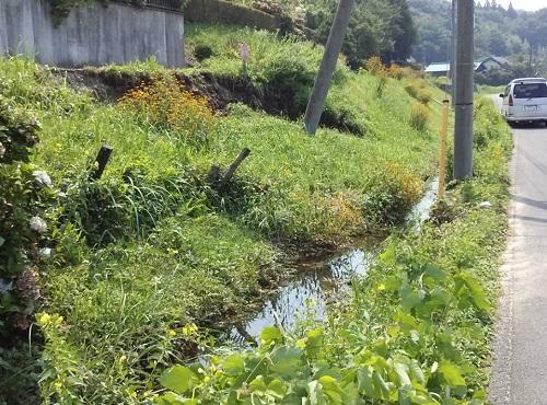 """8月6日(火)の豪雨の影響によると思われる""""土砂崩れ""""<現地調査>⑭"""