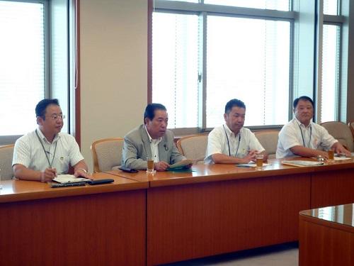 <2013(平成25)年度 栃木県9月補正予算および政策推進に関する要望>申し入れ②