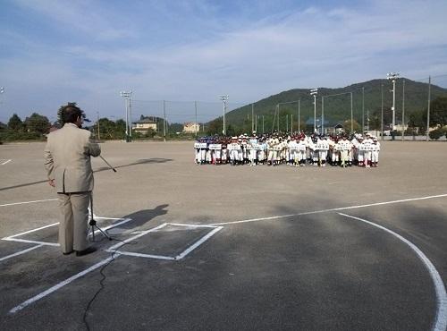 宇都宮西部地区学童軟式野球交流会<第58回 親善大会>開会式②