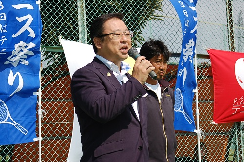 TTA(栃木県テニス協会)テニスフェスタ2013 & 宇都宮秋のテニス祭り<開会式>②