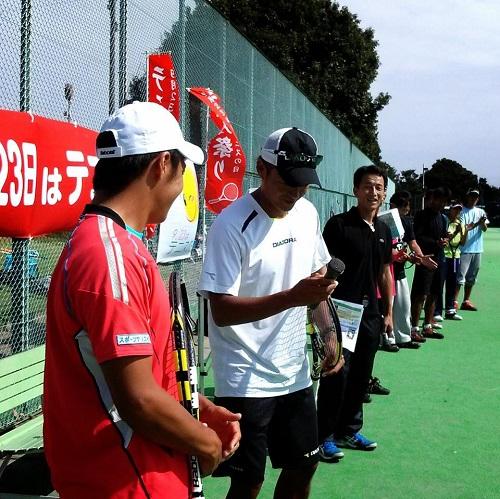TTA(栃木県テニス協会)テニスフェスタ2013 & 宇都宮秋のテニス祭り<開会式>④