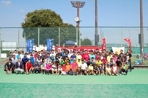 TTA(栃木県テニス協会)テニスフェスタ2013 & 宇都宮秋のテニス祭り<開会式>⑤