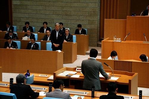 栃木県議会9月通常会議<本会議>質問戦、終わる!②