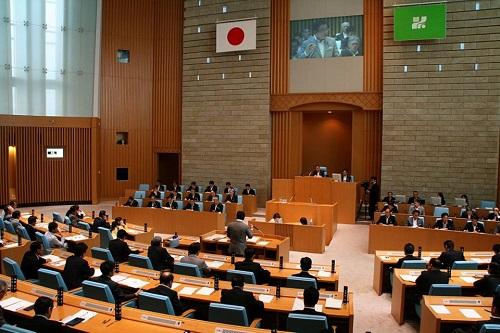栃木県議会9月通常会議<本会議>質問戦、終わる!③