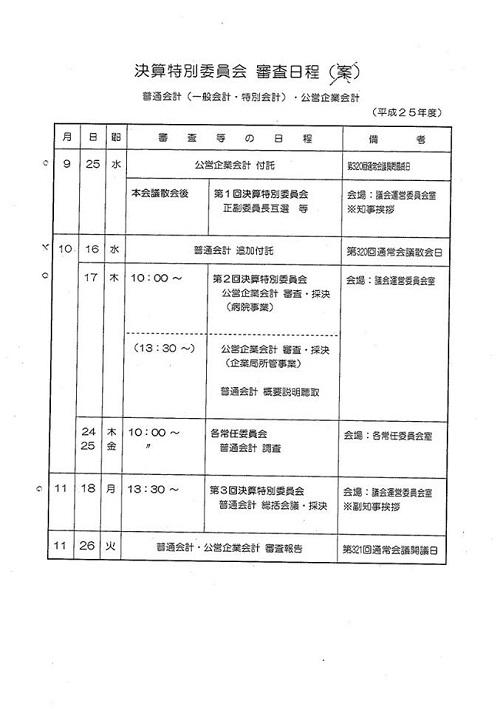 栃木県議会9月通常会議<本会議>質問戦、終わる!④