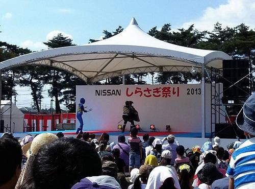 日産自動車(株)栃木工場<2013NISSANしらさぎ祭り>④