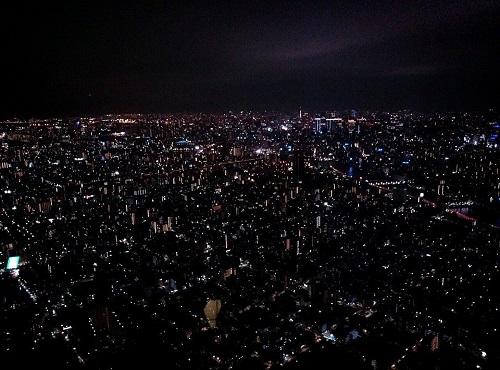<東京スカイツリー>ガラ空き?②