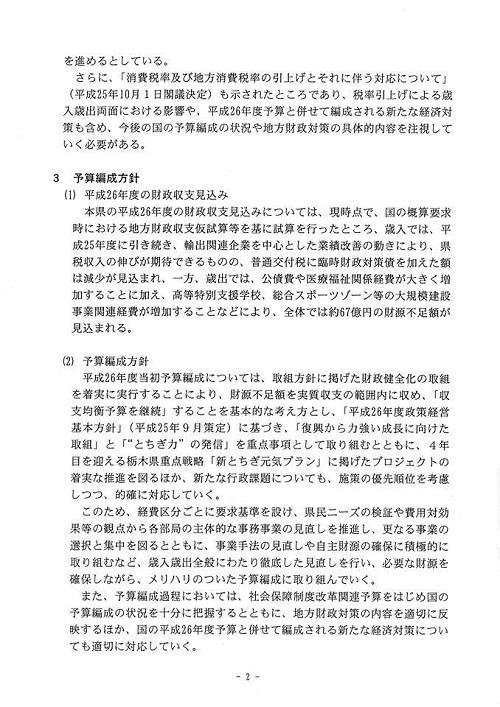 栃木県議会 9月通常会議『本会議』採決 散会へ③
