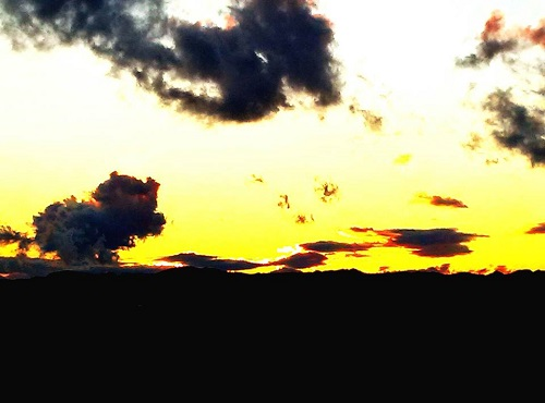 <sunset>