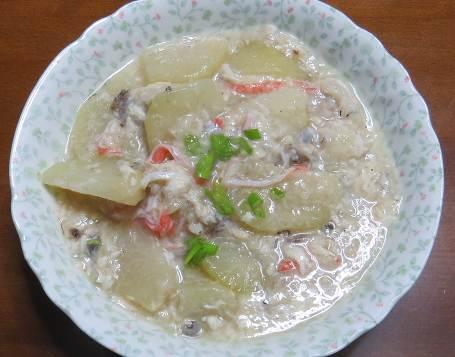 コールラビ中華風料理