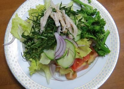 鶏肉野菜サラダ