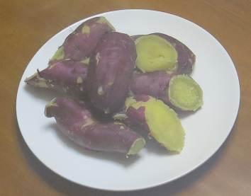 ベニハルカのふかしイモ
