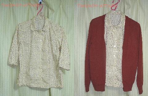ドットシャツ1