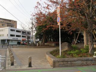 本編中で登場する千葉護国神社