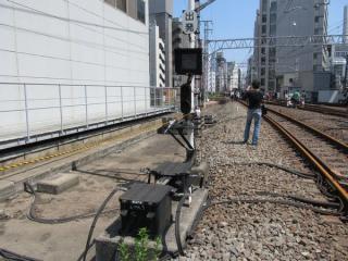 列車種別表示器、手信号代用器、インピーダンスボンド