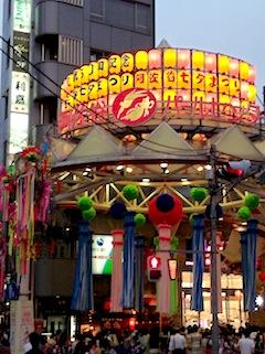 2013 阿佐ヶ谷七夕祭り占いイベント 8/7