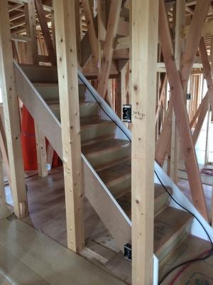 階段ができた