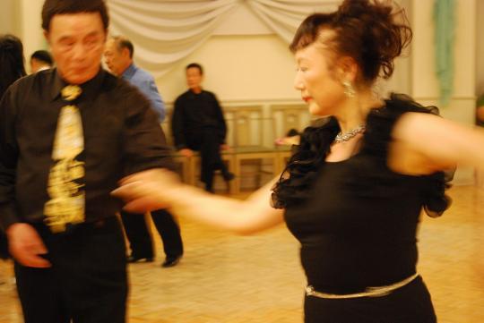 社交ダンスパーティー