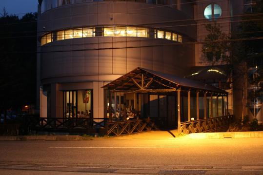 白馬ホテルえきゃきの樹 UFOレストラン