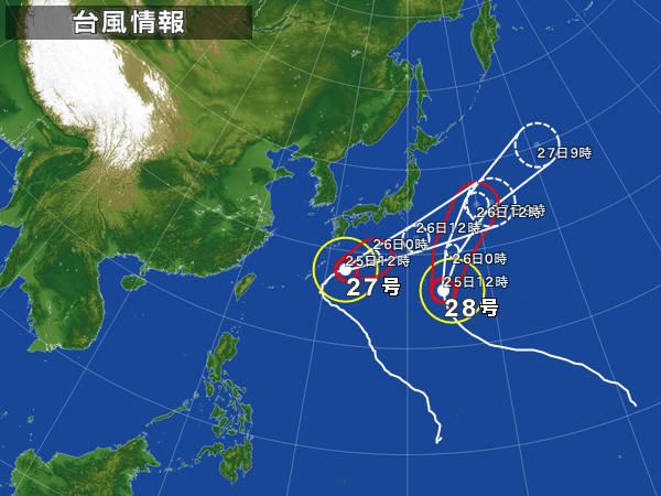 ツイン台風
