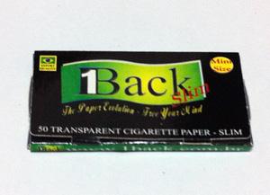 1BACK_SLIM, 1バックスリム 手巻きタバコ 巻紙 ペーパー セルロース 透明 スローバーニング