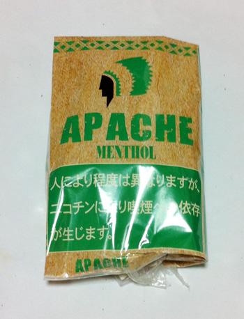 アパッチ・メンソール APACHE_Menthol 手巻きタバコ シャグ アパッチ